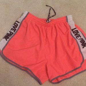 PINK Victoria's Secret Shorts - Pink Victoria's Secret running shorts
